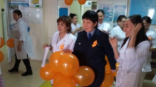 В ГП №25 проведен Международный день ликвидации насилия в отношении женщин